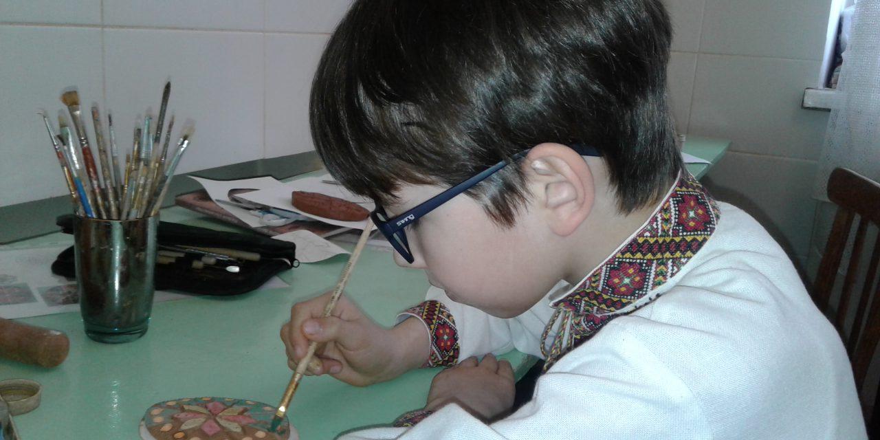 """Відкритий урок """"Керамічна писанка: традиції та символи"""""""